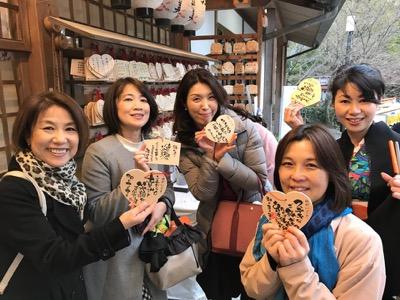 「和文化」に触れ「書」への見識を!「京都、大人の伝筆ツアー」伝筆絵馬