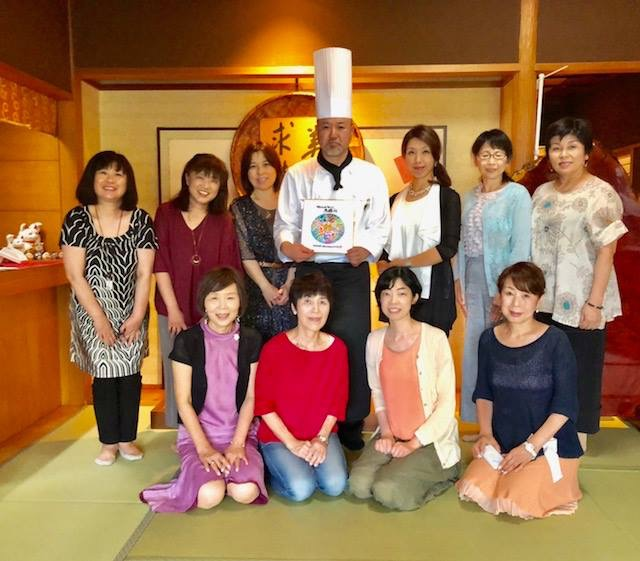 関西地域会と、中四国地域会、伝筆先生11名との合同交流会開催