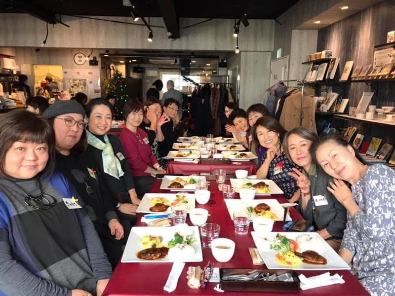 29名伝筆、伊賀先生誘致ランチ会@札幌